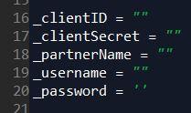 Screen Source Code Adobe Audience API